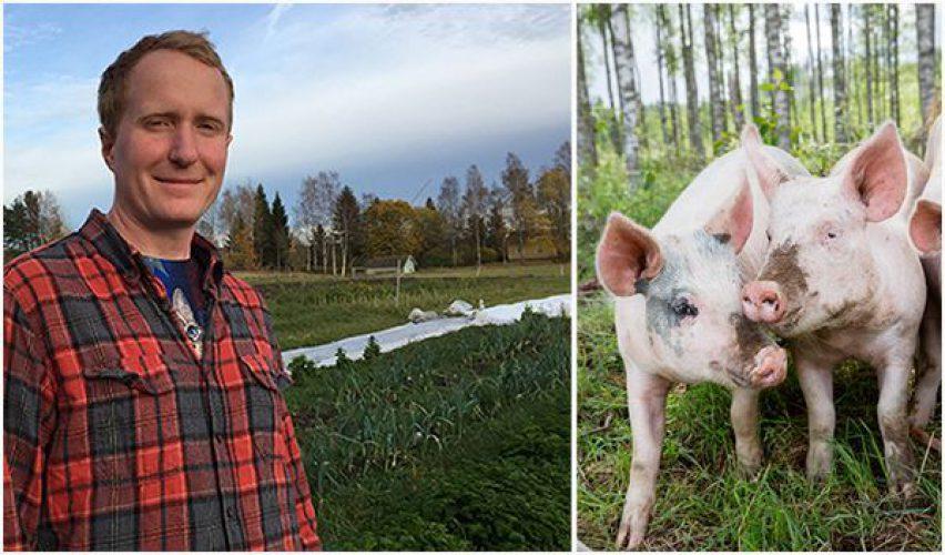 vegan farmer